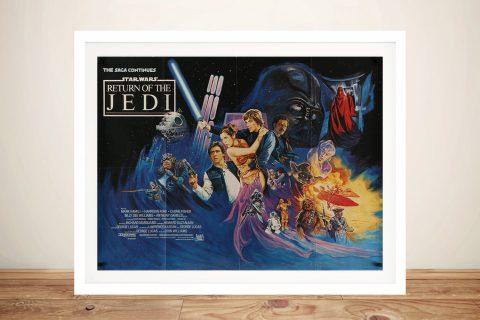 Framed Return of the Jedi Wall Art