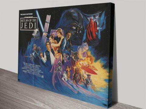 Return of the Jedi Film Poster Home Decor AU