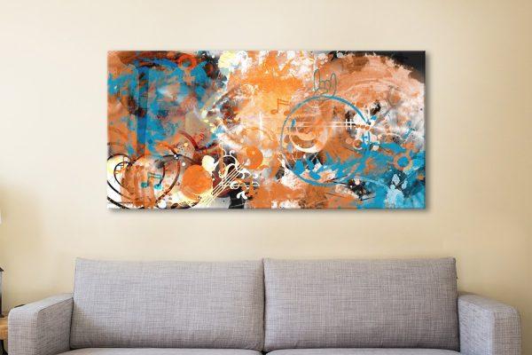 Beyond Control Wall Art by Melanie Viola