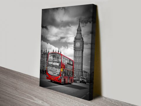 Vintage Style Print of London Gift Ideas AU