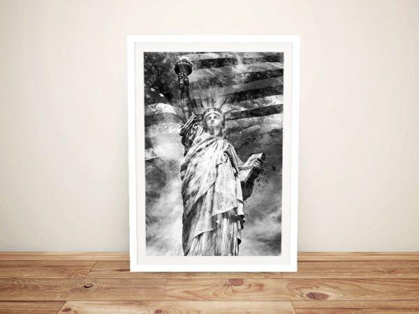 Melanie Viola Statue of Liberty Canvas Print