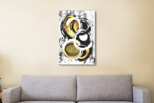 Ready to Hang Abstract Art Great Gifts Online