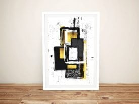 Abstract Painting No. 3 Print on Canvas