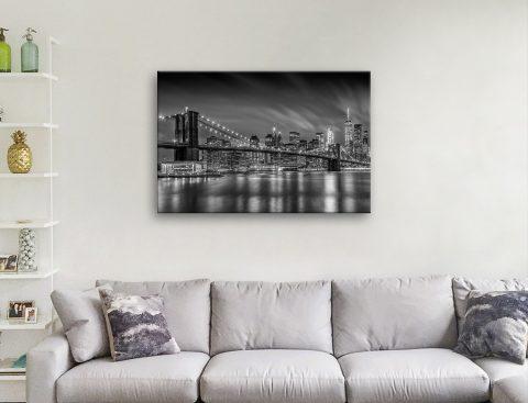 Brooklyn Bridge Melanie Viola Wall Art for Sale