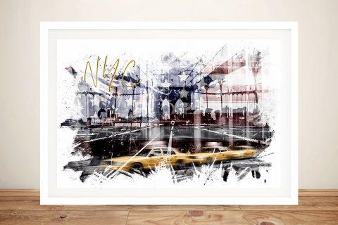 Framed NYC City Art Home Decor Ideas AU