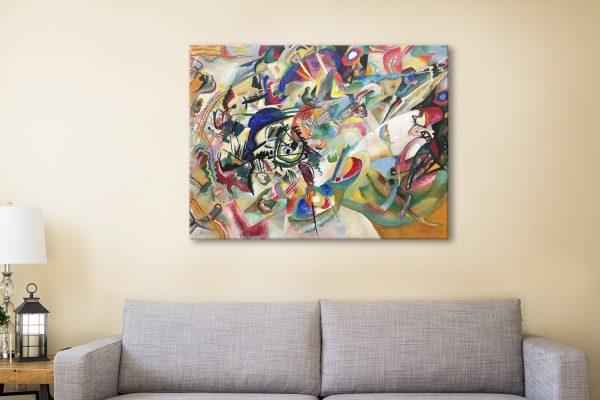 Composition Vll Colourful Modern Art AU