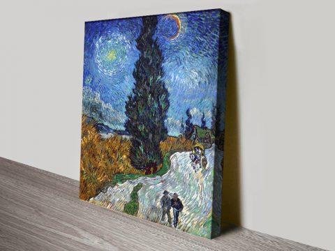 Van Gogh Landscape Prints Gift Ideas AU