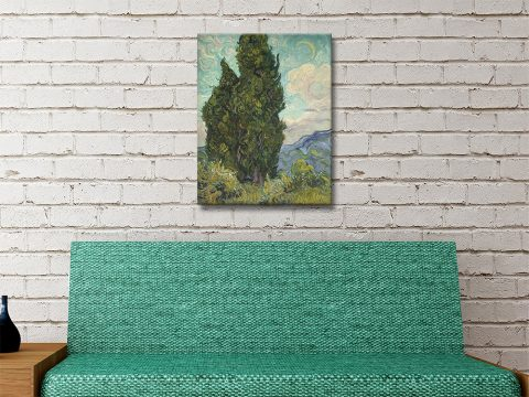 Cypresses Affordable Classic Art Prints AU