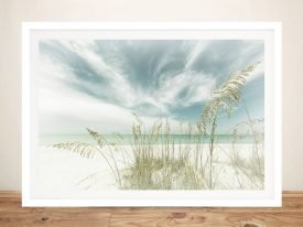 Heavenly Calmness on the Beach Artwork