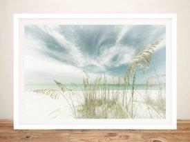 Heavenly Calmness on the Beach Artwork