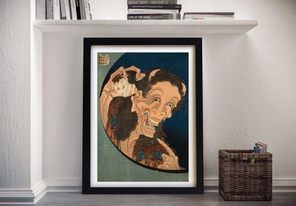 Framed Hokusai Japanese Prints for Sale