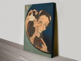 The Laughing Demon Japanese Wall Art