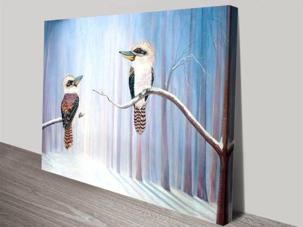 Buy Kookaburra Connection Art on Canvas