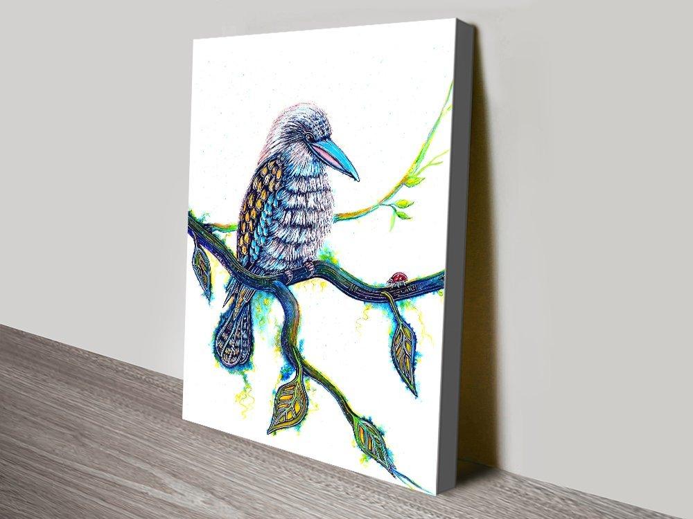 Kookaburra and the Visitor Australian Art