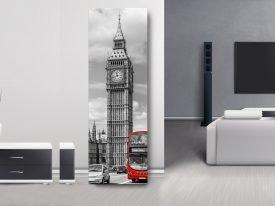 Big Ben Upright Panoramic Art on Canvas