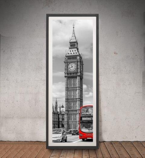 Framed Upright London Panoramic Art AU