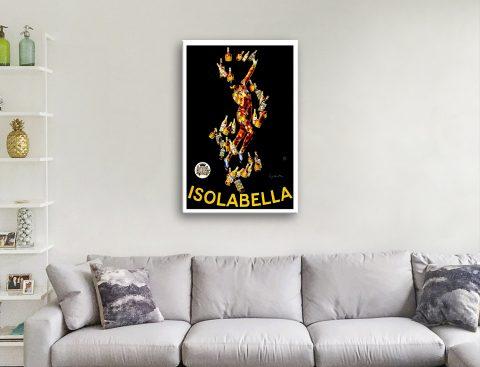Leonetto Cappiello Isolabella French Poster Print