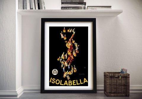 Leonetto Cappiello Isolabella Framed Wall Art