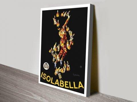 Leonetto Cappiello Isolabella Canvas print