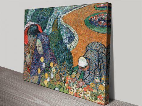 Memory of the Garden at Etten Canvas Art