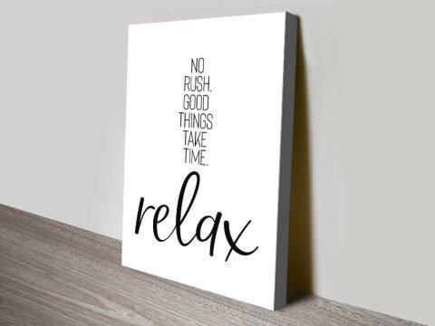 Relax Melanie Viola Monochrome Art AU