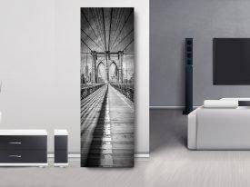 NYC Panoramic Brooklyn Bridge Wall Art