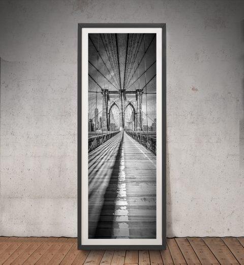 Framed Melanie Viola Black & White Print
