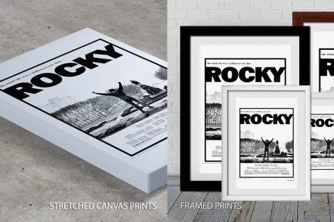 Rocky Movie Poster Quality Print