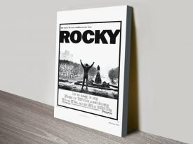 Rocky Movie Poster Wall Art