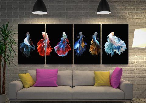 Affordable & Colourful Split Panel Art Sets