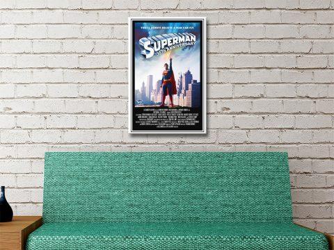 Superman The Movie Art Print