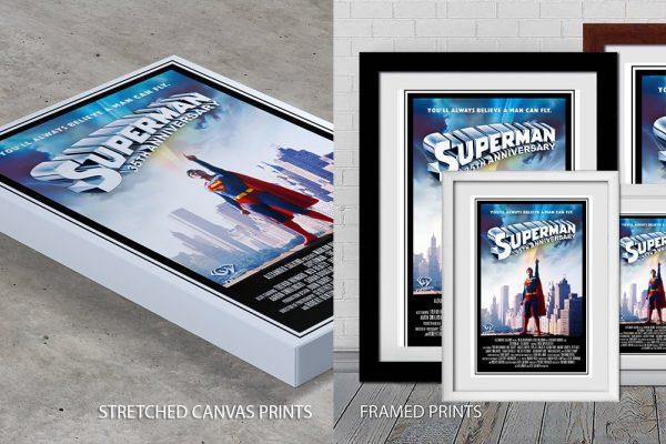 Superman Quality Print