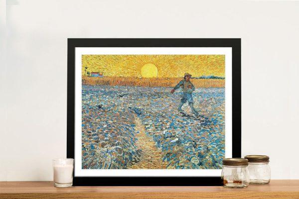 Framed Classic Van Gogh Prints for Sale Online