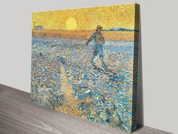 The Sower Van Gogh Classic Wall Art