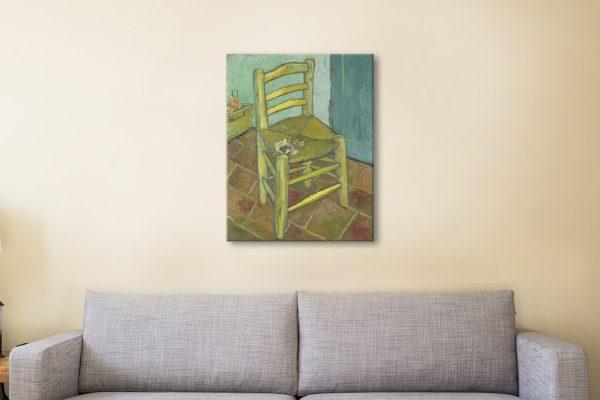 Van Gogh's Chair Ready to Hang Classic Art