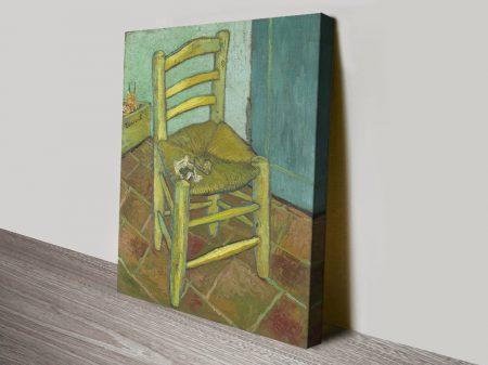 Van Gogh's Chair Quality Canvas Print
