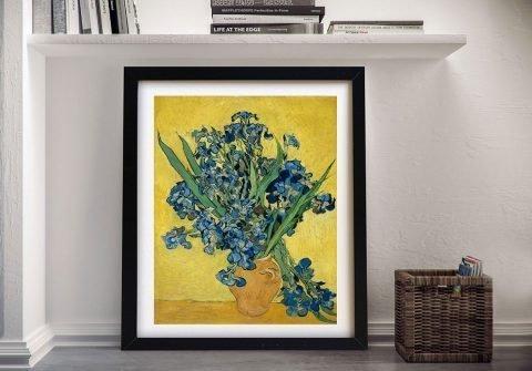 Framed Van Gogh Bouquet Art for Sale