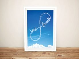 Writing in the Clouds Infinity Custom Art