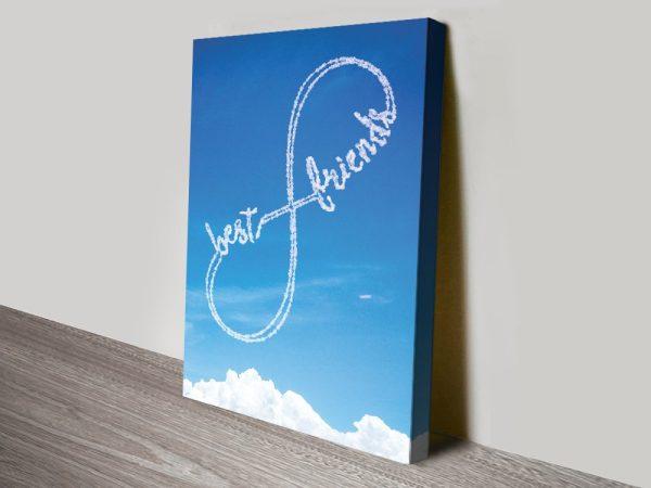 Infinity Custom Art Birthday Gift Ideas AU