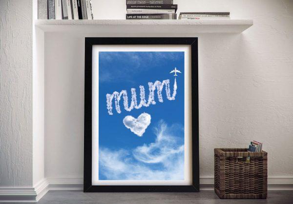 Framed Mothers Day Custom Art Online