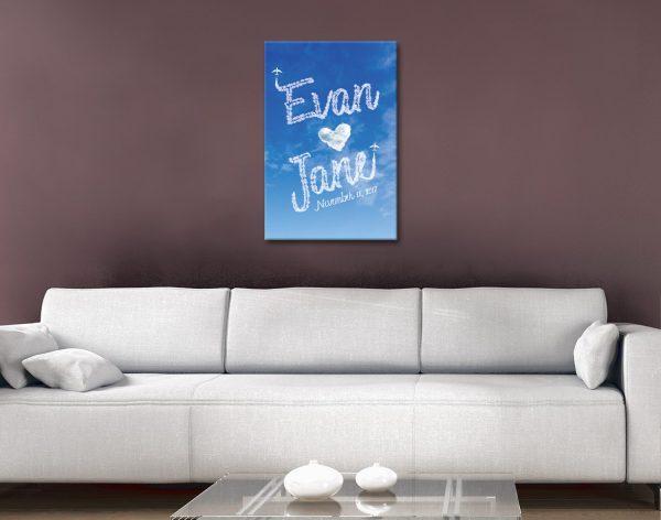 Romantic Custom Wall Art for Sale Online
