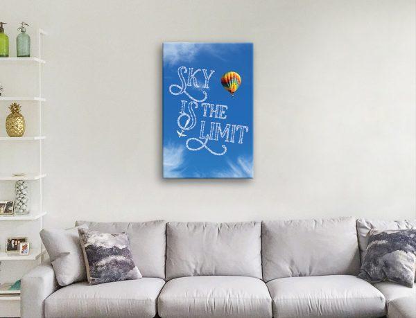 Inspirational Custom Quote Cloud Print