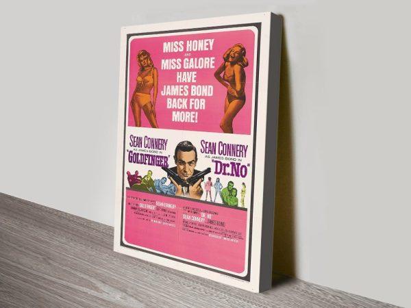 Affordable James Bond Posters Gift Ideas AU