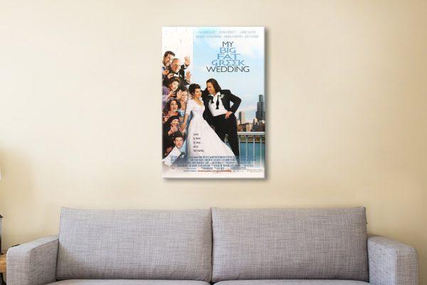 my big fat greek Wedding Canvas print