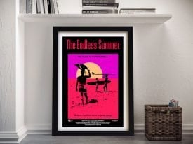 The Endless Summer Framed Film Poster