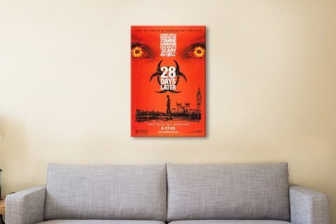 28 Days Later Ready to Hang Poster AU
