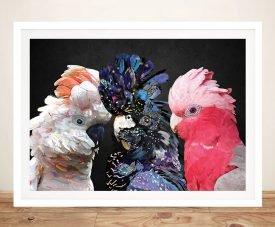 Dance Cocky Framed Karin Roberts Art