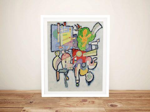 Complexité Framed Abstract Art for Sale AU