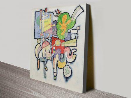 Complexité Kandinsky Print on Canvas
