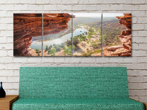 Natures Window 4-Piece Set Home Decor AU